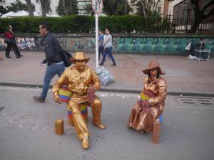 Street perfomermers